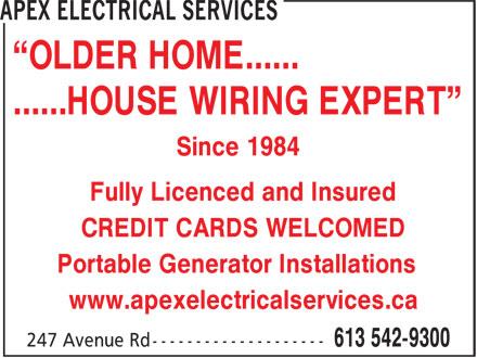Apex Generator Solutions 247 Avenue Rd Kingston On