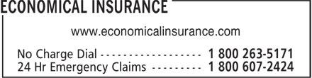 Economical Insurance (416-590-9040) - Display Ad - www.economicalinsurance.com
