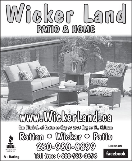 Wicker Land Patio & Home - 2573 Hwy 97 N, Kelowna, BC