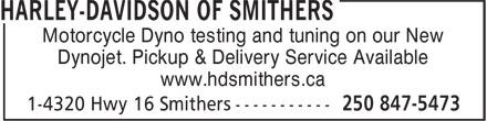 Ads Harley Davidson Of Smithers