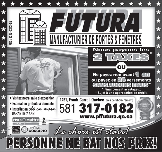 Join for Futura porte et fenetre