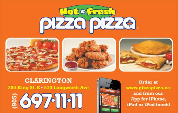 Pizza Pizza (905-697-1111) - Annonce illustrée======= -