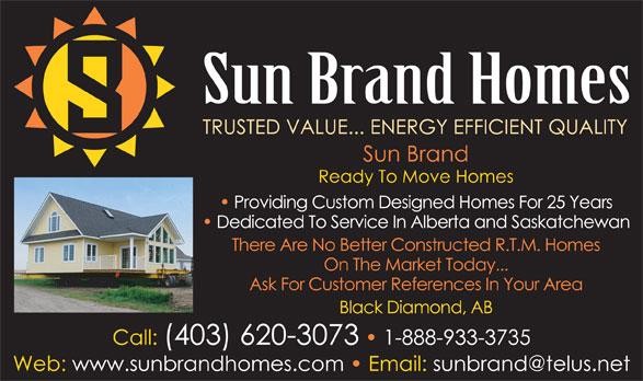 Sun Brand Corporation (1-888-933-3735) - Display Ad -