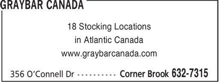 Ads Harris & Roome/Graybar