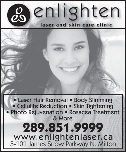 Enlighten Laser And Skin Care Clinic 101 James Snow Pky