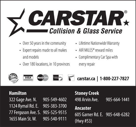 CARSTAR (1-800-227-7827) - Annonce illustrée======= -