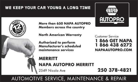 Napa Autopro Canpages