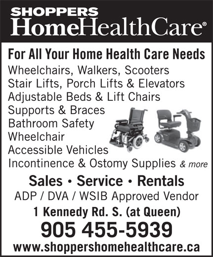 Shoppers Home Health Care (905-455-5939) - Display Ad -