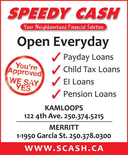 Ads Speedy Cash Payday Advances