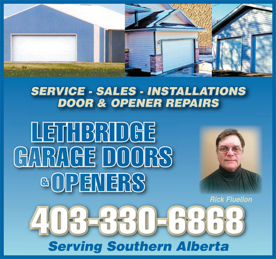 Ads Lethbridge Garage Doors & Openers