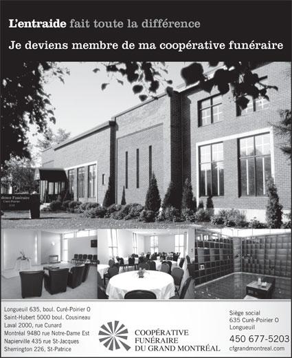 Ads Coopérative Funéraire de la Rive-Sud de Montréal