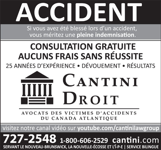 Cantini Droit (506-727-2548) - Annonce illustrée======= -