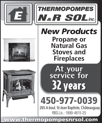 Ads Thermopompes N&R Sol Inc - Service