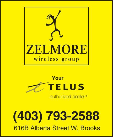 Zelmore Wireless Group (403-793-2588) - Annonce illustrée======= - (403) 793-2588 616B Alberta Street W, Brooks