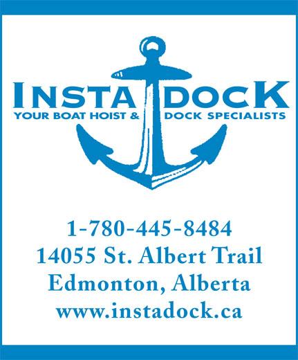 Insta Dock Inc (780-445-8484) - Annonce illustrée======= -