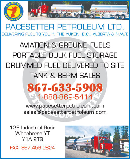 Ads Pacesetter Petroleum Ltd