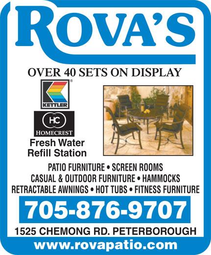 Rova Enterprises (705-876-9707) - Annonce illustrée======= -