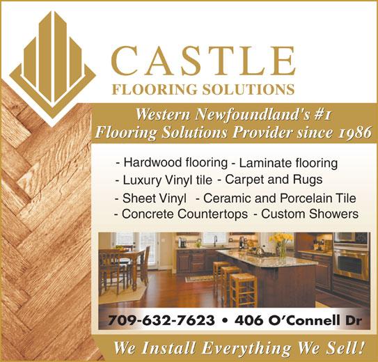 Castle Carpet Ltd 406 O Connell Dr Corner Brook Nl