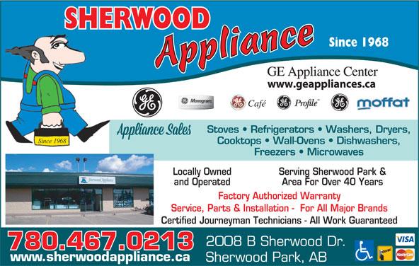 Sherwood Appliance Sherwood Park Ab 2008b Sherwood Dr