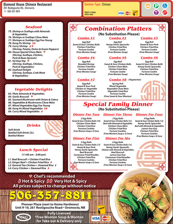 Chinese Food Oromocto