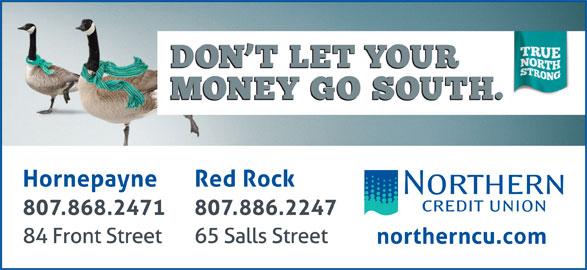 Northern Credit Union (807-868-2471) - Display Ad -