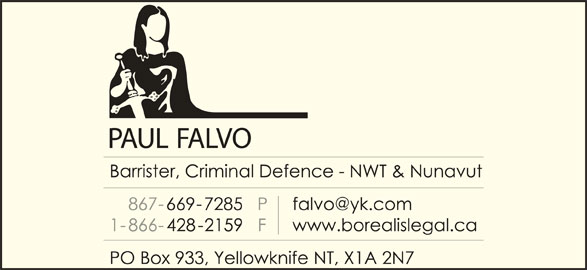 Falvo Paul A (867-669-7285) - Display Ad -