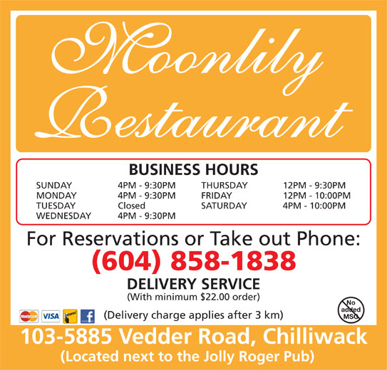 Food Delivery Service Chilliwack