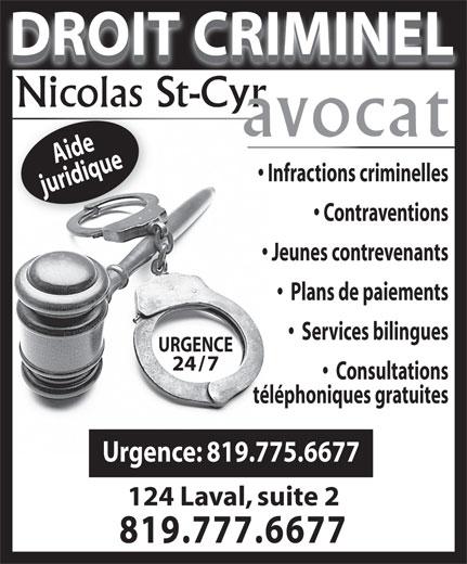 Ads Nicolas St-Cyr