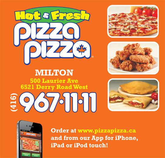 Pizza Pizza (416-967-1111) - Annonce illustrée======= -