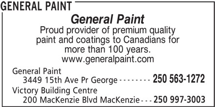 Ads General Paint Corp