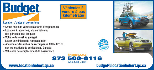 Budget Car Rental Sherbrooke