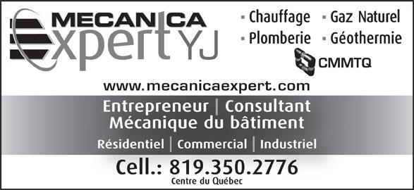 Mécanica Expert YJ (819-350-2776) - Annonce illustrée======= - www.mecanicaexpert.com