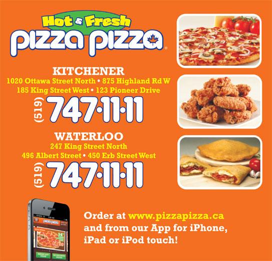 Pizza Pizza (519-747-1111) - Annonce illustrée======= -