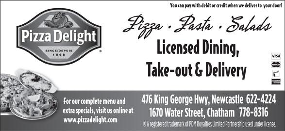 Pizza Delight (506-778-8316) - Annonce illustrée======= -