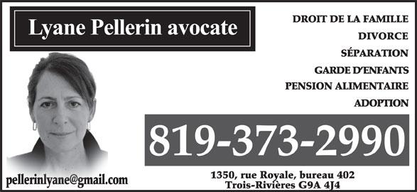 Avocate Pellerin Lyane (819-373-2990) - Annonce illustrée======= - 81