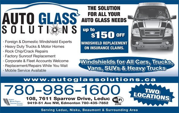 Ads Auto Glass Solutions