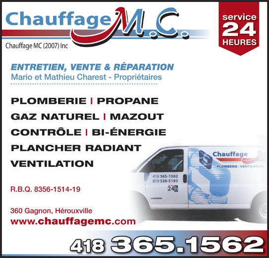 Chauffage mc h rouxville qc 360 rue gagnon for Chauffage piscine quebec