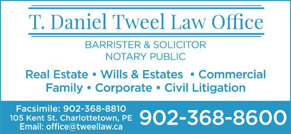 Tweel T Daniel (902-368-8600) - Display Ad -