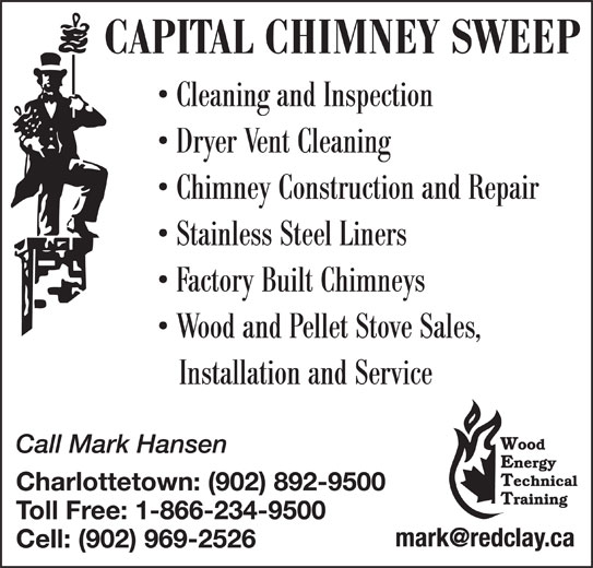 Capital Chimney Sweep 331 Munns Rd Belle River Pe