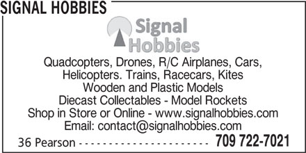 Ads Signal Hobbies