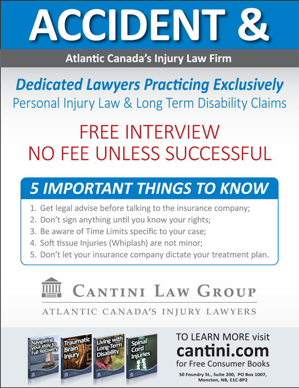 Cantini Law Group (506-867-2529) - Display Ad -