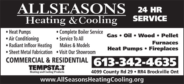Ads All Seasons Heating & Cooling