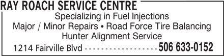 Ads Ray Roach Service Centre - Facsimile Service