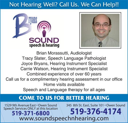 help with speech sounds