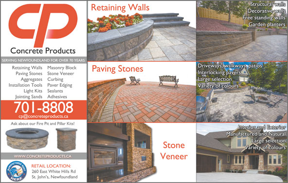 Concrete Products St John S Nl 260 East White Hills
