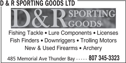 Ads D&R Sporting Goods