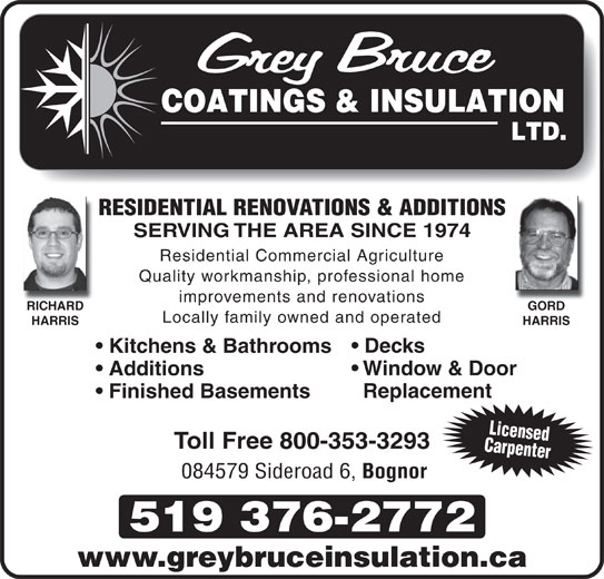 Grey Bruce Coatings Amp Insulation Opening Hours 84579