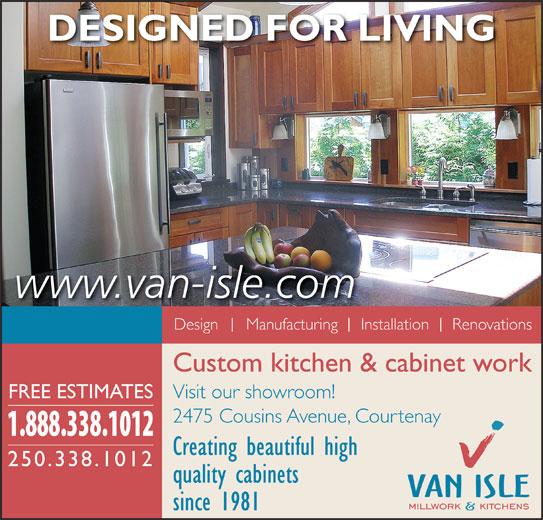 Ads Van-Isle Millwork & Kitchens Ltd