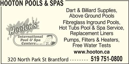 Ads Hooton Pools & Spas