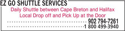Ads EZ Go Shuttle Services